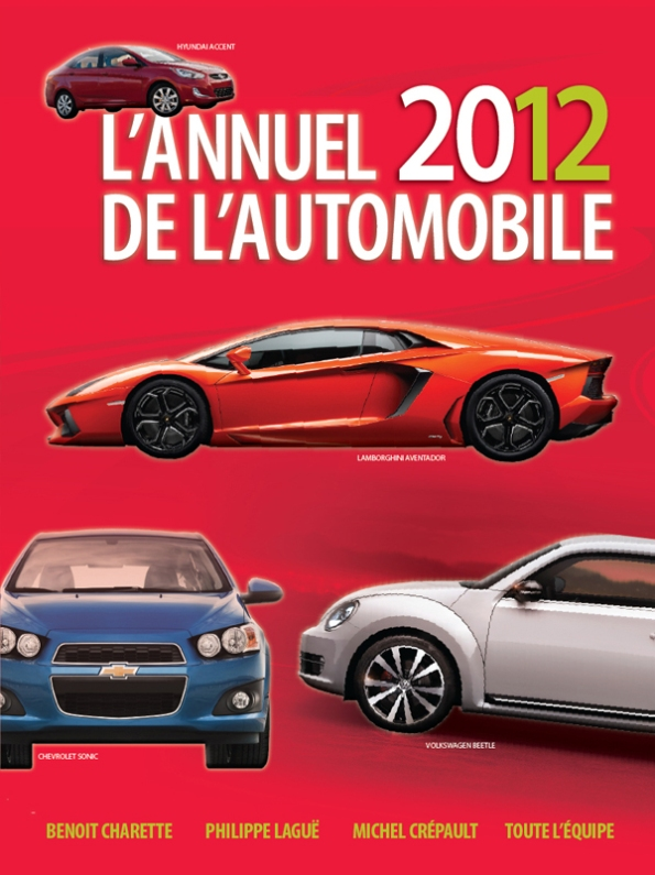 Couverture de L'Annuel de l'automobile 2012
